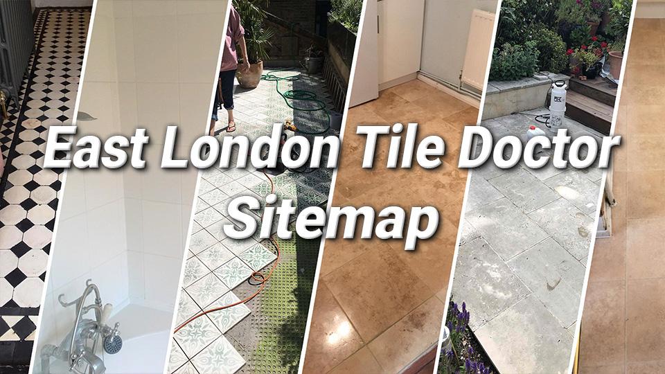 East London Tile Doctor Sitemap